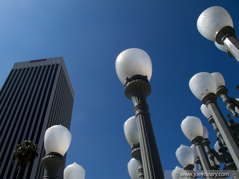 Urban Lights By Chris Burden at LACMA