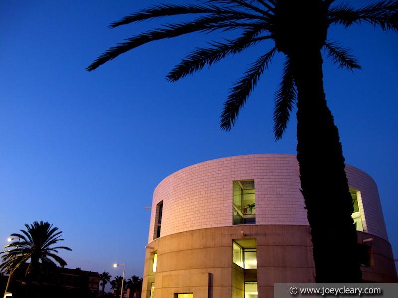 Round building - Barcelona 2011